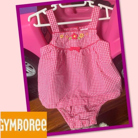 Gymboree Other - 💞2 for $10💞Gymboree pink/wht. Sun dress 6-12M